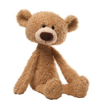 NEW GUND Toothpick Beige Teddy Bear Plush Kids Soft Toy Huggable Baby Shower 15""