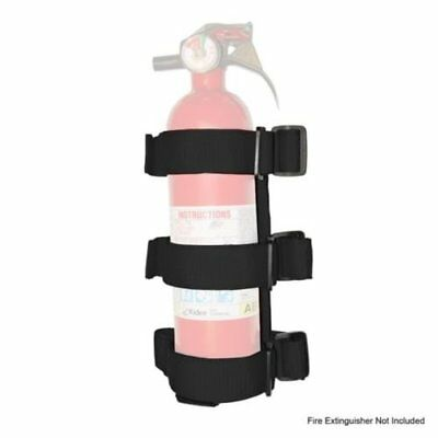 Black Interior Roll Bar Fire Extinguisher Holder For Jeep Wrangler JK TJ JL YJ