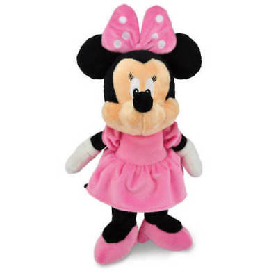 NEW Disney Baby Minnie Mouse Plush Soft Toy Jingle Crinkle Baby Shower Gift Idea