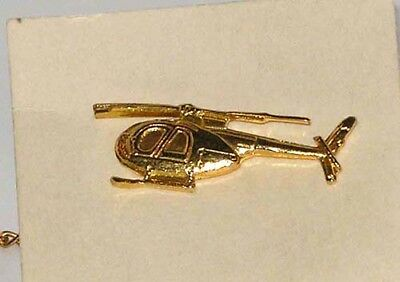 Vietnam era - LOH-6A - TIE CLASP - Gold color - Beautiful with Great Detail
