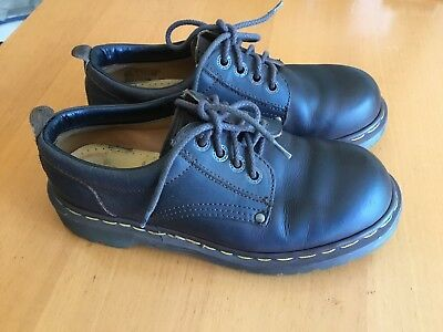 Dr. Martens Steel Toe Safety Shoe  Leather Upper Air Cushion Sz.6