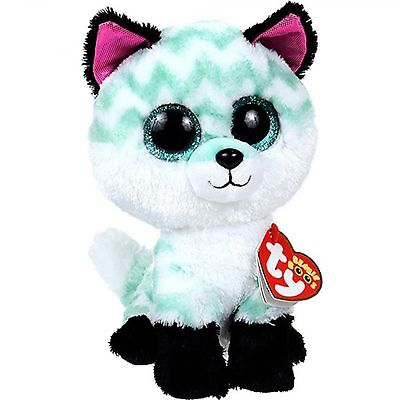 "Beanie Boos 6"" 15cm Piper the Fox Plush Regular Soft Big-eyed Stuffed Animal"