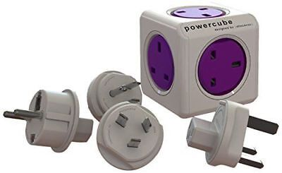 Allocacoc PowerCube Power Cube Rewireable UK Power Socket plus International
