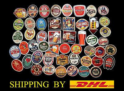 Lot of 50 Vintage Beer Stickers Brewery Brew Craft Logo Decal Label Sticker DHL