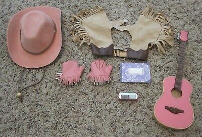 """Our Generation 18/"""" Doll Horse Accessory Rodeo Playset Hat lasso chaps fast ship"""