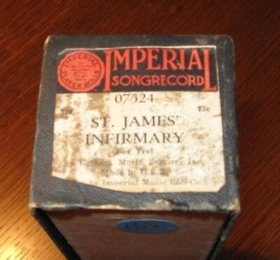 St. James Infirmary Blues Big Cab Calloway Hit !!hot!! Original Piano Roll 1018