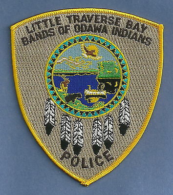 Little Traverse Bay Michigan Tribal Police Patch
