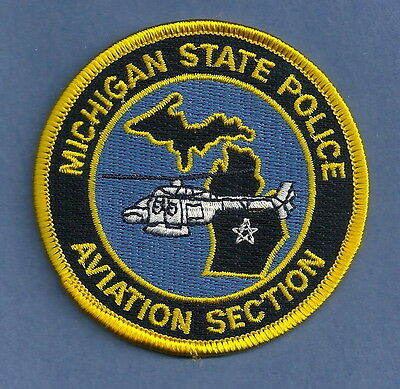 Michigan State Police Aviation Section Patch