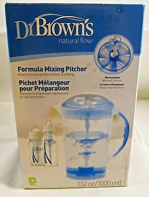 Dr. Brown's Natural Flow - 32 oz Formula Mixing Pitcher - New in Box
