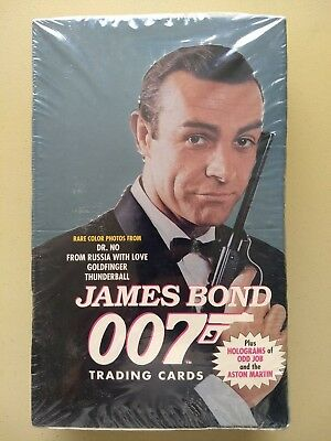 James Bond 007 Series 1 Trading Cards Box - Factory sealed - by Eclipse