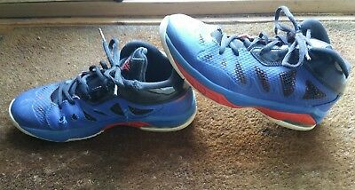 46abbe2b65ce where can i buy air jordan nike melo m8 advance blue black knicks mens size  7