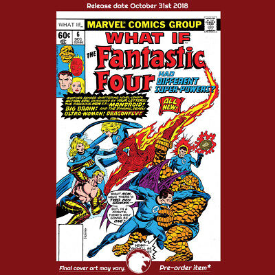 TRUE BELIEVERS WHAT IF THE FF HAD DIFFERENT SUPER-POWERS #1 1st Print (WK44.18)