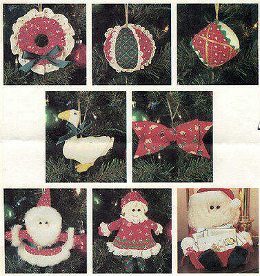 Crafts - Sewing - Christmas - McCalls 3282 - Skirt, Ornaments, Stocking Patterns