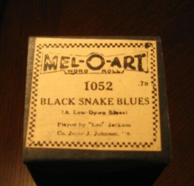 """""""black Snake Blues"""" Absolutely Hot! Recut Piano Roll 1018"""