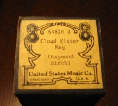 Cloud Kisser Rag Recut Piano Roll 1018