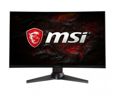 """Full HD FreeSync Gaming Monitor 24"""" Curved Non-Glare 1ms LED Wide Screen 144Hz"""