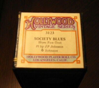 Society Blues Played By Composer James P. Johnson Recut Piano Roll 1018