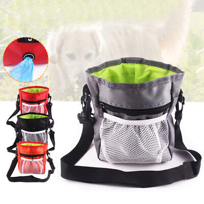 Dog Training Treat Pouch Pet Treating Bag Adjustable Waist Bag For Pet Trainers