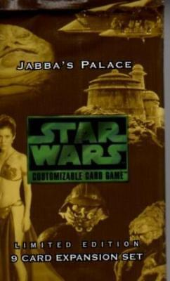 Decipher Star Wars CC Jabba's Palace Booster Pack (Limited Edition) (1 CCG MINT