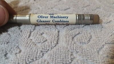 "Vintage ""Chevrolet,Oliver Machinery, A.D. Day, Assumption, Ill."" Bullet Pencil"