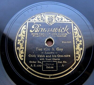 1545/ ELLA FITZGERALD-CHICK WEBB-I´ve got  guy-CONGO-1937 SWING-78rpm Schellack