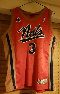 Champion 76ers Iverson NBA jersey Syracuse Nationals Authentic 44 Large EUC   3 26159cfc8