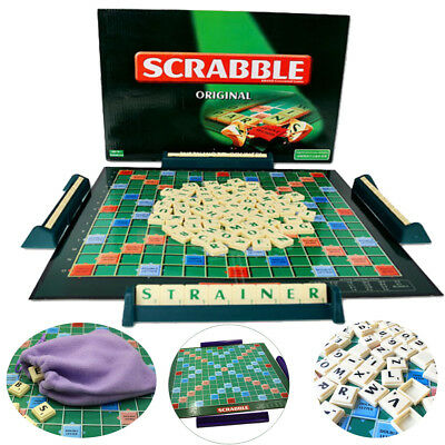 Original Scrabble Board Game Family Kids Adult Educational Toys Puzzle Game