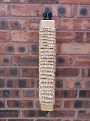 Wall Mounted Sisal Scratching Post for Cats