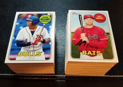 2018 Topps Heritage Minors GLOSS Parallel Glossy YOU PICK CARD *Buy 1 Get 1 FREE