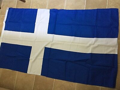 Greece National Flag Greek Hellenic Republic Ethnic Sports Hanging Banner 3x5FT