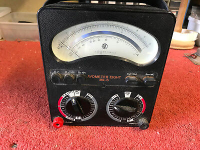 My own .. Avo 8 Mk6 Multimeter .. good condition, fully working