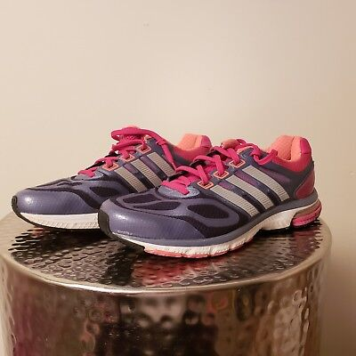 3d3273e0f Adidas Supernova Sequence 6 Shoes Women s size 9 with Torsion System Pink    Gray