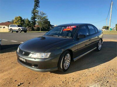 2002 Holden Commodore VY Executive Grey Automatic 4sp A Sedan