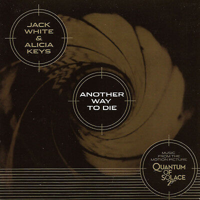 JACK WHITE & ALICIA KEYS Another Way To Die 7inch Golden Vinyl Quantum Of Solace