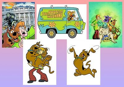 Scooby-Doo The Mystery Machine Low Profile Thin Mouse Pad Mousepad