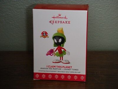 2017 Hallmark Ornament ~I CLAIM THIS PLANET~ MARVIN THE MARIAN   LIMITED EDITION