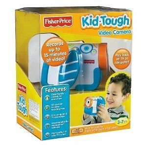 New Fisher Price Kid Tough Video Camera Blue