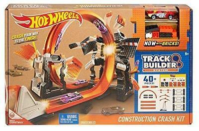 New Hot Wheels Car Track Builder Construction Kit 40+ Pieces