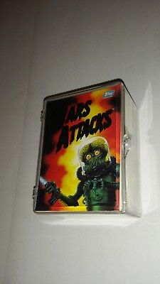 1994 Topps MARS ATTACKS Near Complete Base Set 99 Cards 0-99 with Case