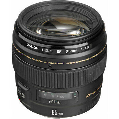 BRAND NEW Canon EF 85mm f/1.8 USM Lens 2519A003 BRAND NEW
