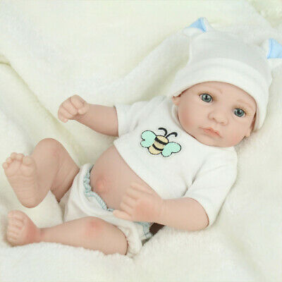 Reborn Baby Dolls Handmade Full Body Soft Vinyl Silicone Newborn Girl Babies Toy