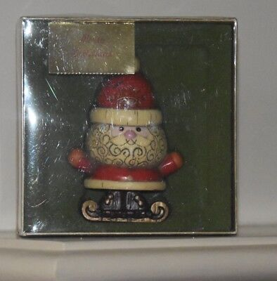 Hallmark Tree Trimmer Ornament SANTA / MINT