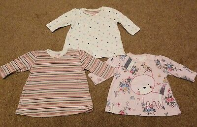 Next Baby Girls Up To 1 Months Long Sleeved Tops