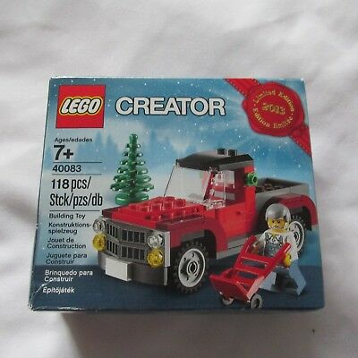 2013 Lego Creator #40083 Christmas Tree Truck Limited Edition New In Box