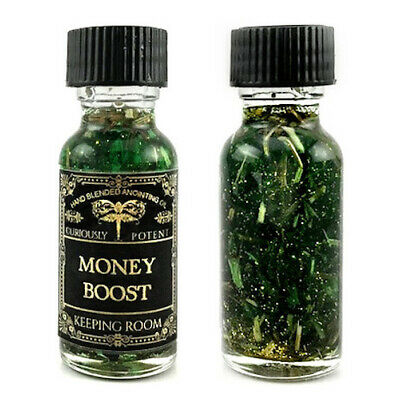 Money Boost Oil Prosperity Finances Luck Wealth Witchcraft Supplies Buy2Get1