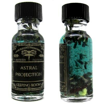 Astral Projection Oil Travel Occult Hoodoo Magick Witch Supplies Out of Body