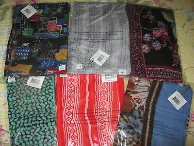 Vera Bradley NWT/NIP Soft Fringe Scarf in Your Choice of Pattern ~ MSRP $38