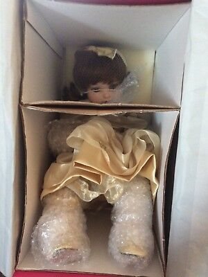 2002 Marie Osmond Disney ~ 10th Anniversary Baby Belle Toddler Doll ~ NIB w/Pin