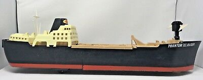Ideal Phantom Raider Toy Warship PR-135 made in 1964 by Ideal Toy Corp for Parts