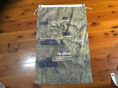 Australian army rifle machine gun man cave flag mancave ideas men's gift SAS